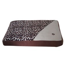 Animal Print Dog Pillow