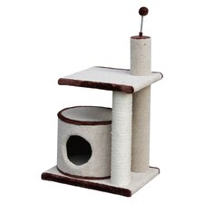 Carpet and Sisal Scratching Post