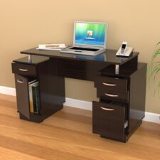 <strong>Inval</strong> Double Pedestal Computer Desk