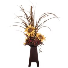 <strong>Vickerman Co.</strong> Floral Sunflower and Grass