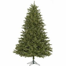 Balsam 7.5' Green Fir Artificial Christmas Tree with 800 LED White Lights