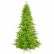 3' Lime Fir Artificial Christmas Tree with 100 Mini Single Colored Lights