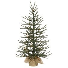 Frosted Angel 3' Pine Artificial Christmas Tree with 50 Clear Lights