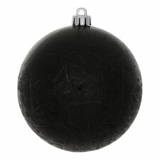Crackle Ball UV Drilled Ornament (Set of 12)