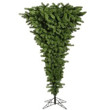 Colorful Unside Down 5.5' Green Artificial Christmas Tree