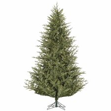Sutter Creek 4.5' Green Fir Artificial Christmas Tree with 200 LED White Lights