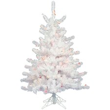 Crystal White 3' Artificial Christmas Tree with Unlit