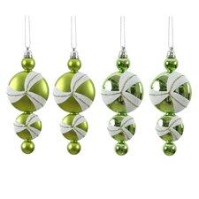 Candy Dangle Ornament (Set of 4)
