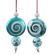 Candy Dangle Ornament (Set of 2)