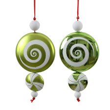 Candy Dangle Ornament (Set of 2)