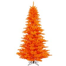 5.5' Orange Fir Artificial Christmas Tree with Unlit