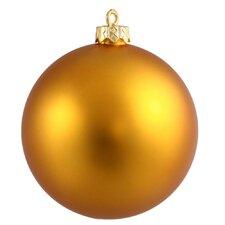 Ball Matte UV Shatterproof Ornament