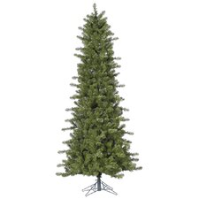 Ontario Slim 5.5' Green Spruce Artificial Christmas Tree with Stand