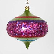 Onion Ornaments Glitter (Set of 4)