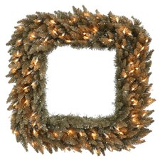Fir Square Wreath
