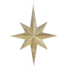 Star Glitter 8 Point Ornament