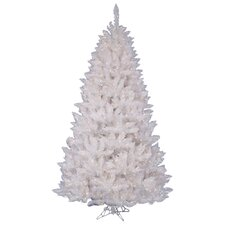 White Spruce 6.5' Artificial Christmas Tree with 360 LED White Lights