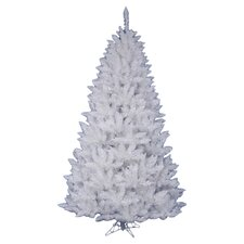 Crystal White Spruce 5.5' Artificial Christmas Tree with Stand