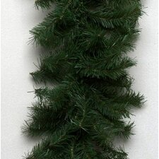 Canadian Pine 50' Garland with Clear Lights