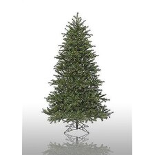 Redwood 7.5' Green Artificial Christmas Tree with 600 Pre-Lit Multicolored Lights with Stand
