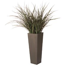 Floral Artificial Potted Grass Floor Plant in Pot