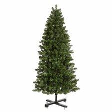 Grand Teton 7.5' Green Slim Artificial Christmas Tree