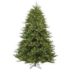 <strong>Vickerman Co.</strong> Majestic 9' Green Frasier Artificial Christmas Tree with 1350 Dura-Lit Clear Lights with Stand