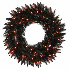 <strong>Vickerman Co.</strong> Fir Wreath with 210 Lights