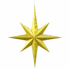 Candy Finish 8 Point Star UV Ornament