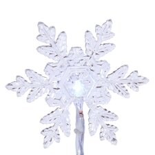 <strong>Vickerman Co.</strong> Snowflake 20 Light LED Novelty Light