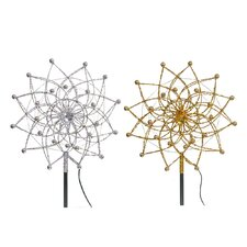 <strong>Vickerman Co.</strong> Star Burst Tree Topper with 18 LED Lights