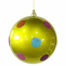 <strong>Vickerman Co.</strong> Candy Polka Dot Ball Ornament