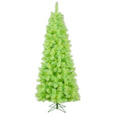 Cashmere 7' Lime Artificial Christmas Tree with 400 Dura-Lit Lights with Stand