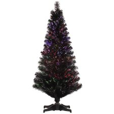 4' Black Twig Optic Artificial Christmas Tree