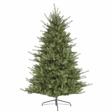 "Colorado 6' 6"" Green Spruce Artificial Christmas Tree with 480 LED White Lights with Stand"