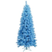 Baby Cashmere 7' Blue Artificial Christmas Tree with Stand with Stand