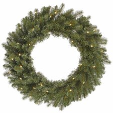<strong>Vickerman Co.</strong> Colorado Wreath with 40 LED Lights