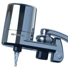 F-5C Chrome Faucet Mount Water Filter System
