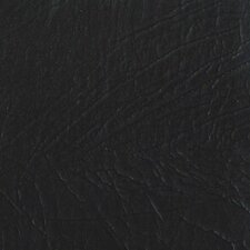 "Rainforest 15-1/4"" x 15-1/4"" Recycled Leather Tile in Grizzly Noir"