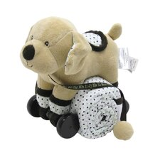 <strong>Piccolo Bambino</strong> Pull Toy with Baby Quilted Blanket