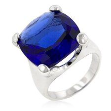 Tanzanite Irish Light Cocktail Ring
