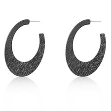 <strong>Kate Bissett</strong> Black Hail Storm Earrings
