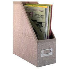<strong>kathy ireland Office by Bush</strong> NEW YORK SKYLINE Magazine File byin Patent Leather Croc Beige