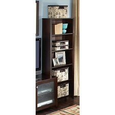 Grand Expressions 5-Shelf Bookcase in Warm Molasses Finish