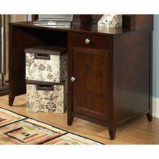 Grand Expressions Single Pedestal Writing Desk
