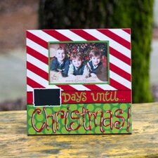 Days Until Christmas Picture Frame