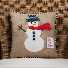 Christmas Let It Snow Pillow