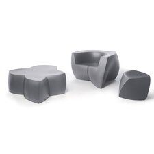 Frank Gehry 3 Piece Bench Seating Group