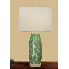 <strong>JB Hirsch Home Decor</strong> Mother Pearl Coral Table Lamp