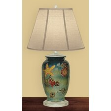 "Undersea World 27"" H Table Lamp with Empire Shade"